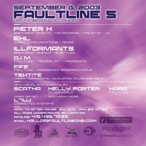 Faultline 5 flyer back